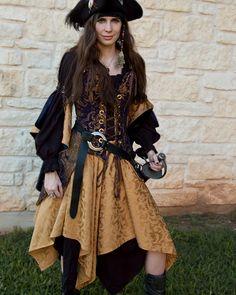Or jaune Pixie jupe Renaissance Costume - dernière !