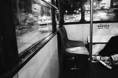 a scene in the tram Hong Kong, Monochrome, Gun, Scene, Inspire, Monochrome Painting, Firearms, Pistols, Revolvers