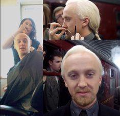 Tom looks UGLY bu well.......