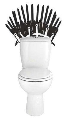 game of thrones toilet decal Game Of Thrones Gifts, Game Of Thrones Fans, Die Hard Game, House Games, Dragon Games, Diy Games, Best Games, Toilet, Depressing