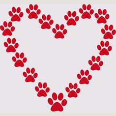 Paw print wildcats on dog paws dog paw tattoos and clip art image 7 Paw Print Clip Art, Stencils, Dog Paws, Vinyl Wall Decals, I Love Dogs, Projects To Try, Valentines, Crafty, Paw Prints