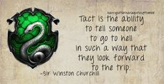 ahahaha, I love it. I've had similar thoughts before. Why is there a slytherin crest on the picture? I have no idea.