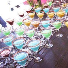 Bebidas coquetas para tu evento, los invitados las disfrutarán ...  #pejotta