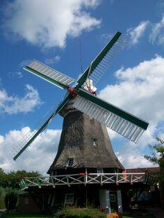 Die Accumer Mühle in Schortens gehört mit zur friesischen Mühlenstraße und ist ein Gallerieholländer. Regelmäßig finden hier auch Veranstaltungen wie der Backtag oder Pflanzenmärkte statt.