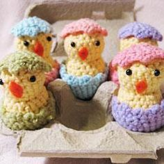 Amigurumi Patterns....these are cute little things...another reason to learn how to crochet!
