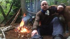 wild camping with my dog in the U.K. tips for beginners,tarp shelter, camp fire lighting,  cooking,