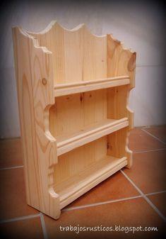 Image result for especieros de madera casa