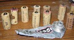 wine cork decoration - Căutare Google