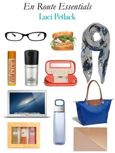 @Luci Wallace Wallace Wallace Petlack (Luci's Morsels) travel essentials >> http://www.hithaonthego.com/en-route-with-luci-petlack/