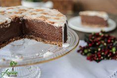Tort ciocolatos cu glazura de cocos - Arome de poveste