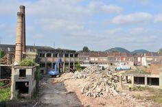 Huilerie Grisard à Mons #spaque #rehabilitation #remediation #brownfields #fricheindustrielle