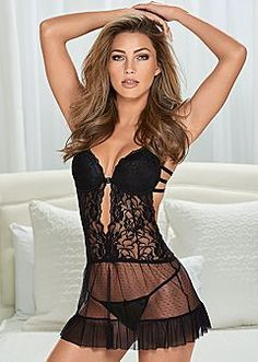 aa4bf03078 Sexy Lingerie  Flirty Lace Styles and Matching Sets Pretty Lingerie