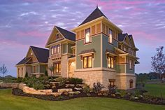 Luxury Home. Marshall Architects is a small Architectural firm which provides design and construction drawing services for new residential and commercial buildings and spaces. Pinned by #ChiRenovation - www.chirenovation.com