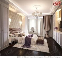 Новинка 2015. Дизайн спальни в стиле арт-деко http://www.ok-interiordesign.ru/ph18_bedroom_interior_design.php