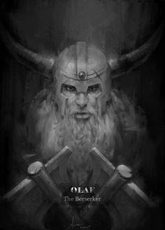 Olaf The Berserker by LeeKent on DeviantArt