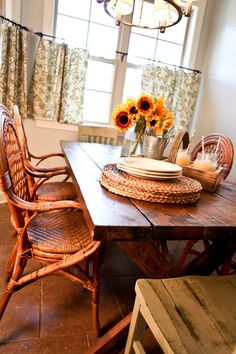 Stained Wood Pine Farm Table Custom Made by deltaboyfurnishings, $950.00