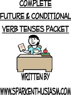 Futuro y Condicional / Tons of awesome resources, songs, videos, materials to teach and learn the future and conditional verb tenses in Spanish.