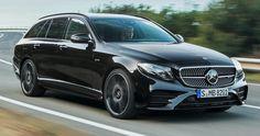 Merc's E-Class Estate, GLC Coupe, Gain New Engines In UK #Mercedes #Mercedes_E_Class