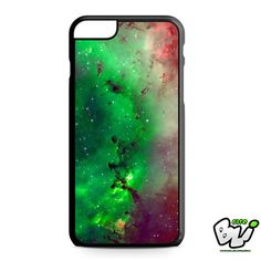 Red Green Galaxy Nebula iPhone 6 Plus Case | iPhone 6S Plus Case
