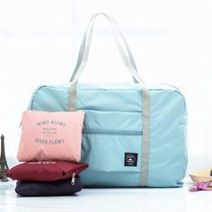 Women Men Folding Waterproof Luggage Bags Unisex  Fitness Bag Outdoor Travel Bags
