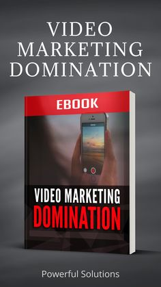 VIDEO MARKETING DOMINATION EBOOK plus Cheat Sheet, Checklist, Sales Page, Graphics and more! With Resale Rights and MRR (Master Resale Rights). #marketing #videomarketing #marketingtips #internetmarketing #socialmediamarketing #socialmedia #youtube #video #videoebook #videotips #videoapps #onlinemarketing #affiliatemarketing #videoeditor Online Marketing Strategies, Marketing Tools, Business Marketing, Affiliate Marketing, Internet Marketing, Social Media Marketing, Online Business, Digital Marketing, Graphics