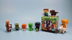 Minecraft Mini-Figure Blind Mystery Box, Grass Series 1. BEST MINECRAFT FIGURES EVER(i like small figures)!