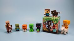 Minecraft Mini-Figure Blind Mystery Box, Grass Series 1. BEST MINECRAFT FIGURES EVER(i like small figures)!
