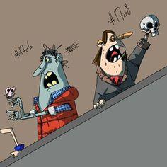Added an actor to the scene subway scene  n1708 #hamlet #Procreate #ipadproart #ipadprocreate #shakespeare  #art #draw #comics #comicart #cartoons #characterdesign #conceptart