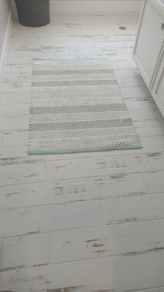 Ceramic Wood Tile Floor, Wood Tile Bathroom Floor, Wood Look Tile Floor, Laundry Room Bathroom, Wood Tile Floors, Room Tiles, Kitchen Flooring, Laundry Rooms, Kitchen Wood