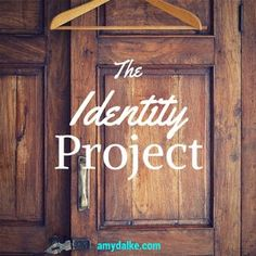 """Who are you? What does it mean that your identity is """"in Christ""""? How does that affect your life on a random Tuesday morning? Check this out…and get some answers."""