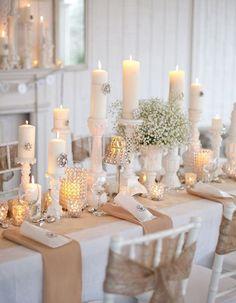 Bougeoir : toutes nos idées de bougeoirs pour une décoration de mariage romantique ...