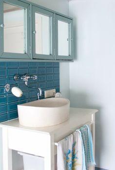 Bathroom pastels