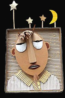 Cardboard Sculpture, Cardboard Crafts, Sculpture Art, School Art Projects, Projects For Kids, Arte Elemental, Classe D'art, Art Lessons Elementary, Art Lesson Plans