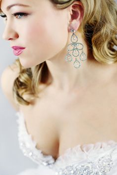 Beautiful wedding jewels by Vancouver based designer Elsa Corsi.