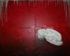 Acrylic on canvas 32″x40″. Asma Tariq, an artist, holding a Masters Degree in Fine Arts from the Institute of Art & Design – University of Punjab, Lahore, Pakistan. for more info visit: http://jmhsouk.com/product-category/visual-arts/paintings/