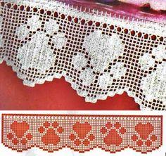Padroes - Crochê - Crochê - Gráficos: Muito bom Raminhos MANTILLA, cubra e GIFT