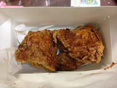 Supper 2013.01.03 bought at KFC.