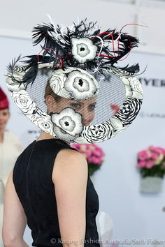 Racing Fashion Australia - Millinery Race Day Fashion, Races Fashion, Fascinator Hats, Fascinators, Headpieces, Hat For The Races, Races Style, Cocktail Hat, Derby Day