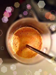 Guten Morgen…der Samstag beginnt mit Nebel, mir egal solange ich einen #Arpeggio #Kaffee von @Nespresso habe