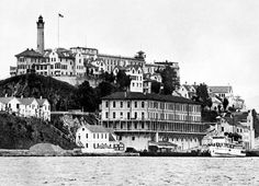 Alcatraz. The tour was very interesting! Not a place that I would want to go again.