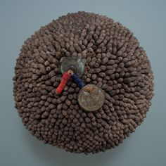 Chief's Hat, Pende people, D.R. Congo, top view