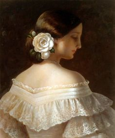 La Traviata - Violetta by unknown artist (lacedheartt)