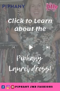 e973d81fd9be8 The Piphany Laurel dress is everything! Click to watch a short video on  this great