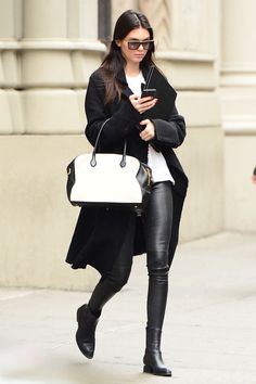 Kendall in Soho on Oct. 22, 2014, in New York City.