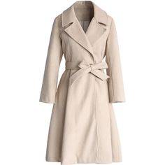 Chicwish Grace Belted Wool Blend Coat