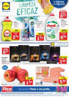 Folheto Lidl Portugal em vigor a partir de 16 Fevereiro Limpeza eficaz. Dica da Semana: Plante o seu jardim #Promoções #Lidl