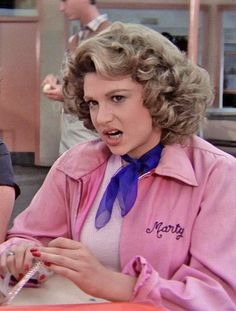 Marty Maraschino #Grease #PinkLadies