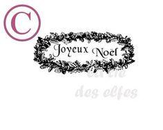 tampon joyeux noel