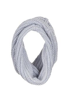 artic ice Infinity scarf with sparkle