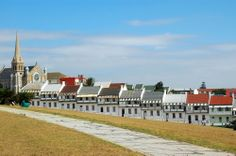 Photo about The famous houses of Donkin Street in the city of Port Elizabeth - Eastern Cape province in South Africa. Image of attraction, small, road - 1908353 Port Elizabeth South Africa, Buy Tickets, Tickets Online, Travel Trolleys, Msc Cruises, All Flights, Evergreen Forest, Cruise Destinations, Small Town Girl